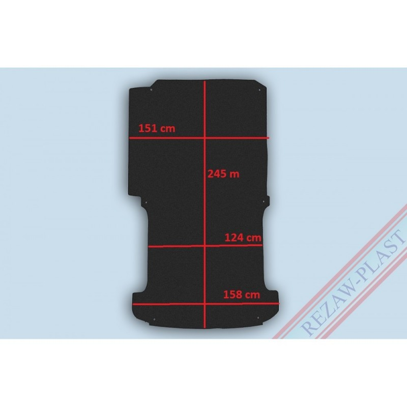101850 - Protector piso VW T5